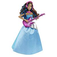 Кукла Барби Эрика с гитарой Рок-принцесса, поющая / Barbie in Rock n Royals Erika Doll