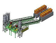 Бетоносмесительная установка БСУ-120К от производителя KARMEL, фото 1