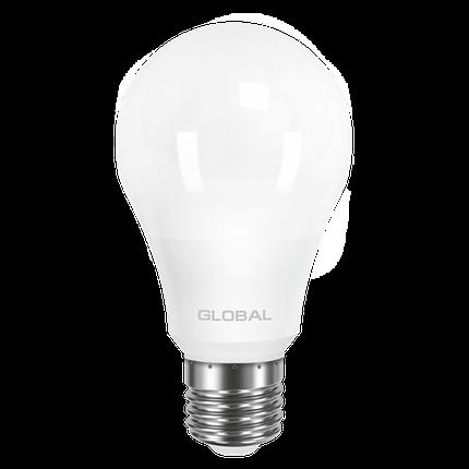 LED лампа GLOBAL A60 10W мягкий свет 220V E27 AL (1-GBL-163) (NEW), фото 2