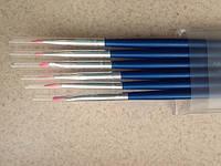 Набор кистей для дизайна и рисования на ногтях, 6 шт.