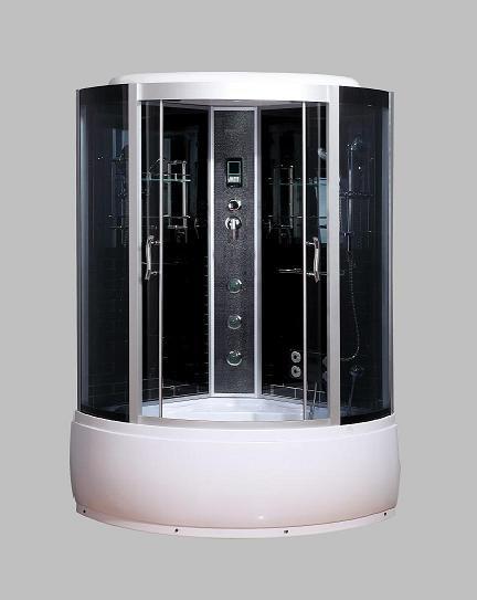 Гидромассажный бокс BADICO SAN 086 B 130х130х215 с глубоким поддоном