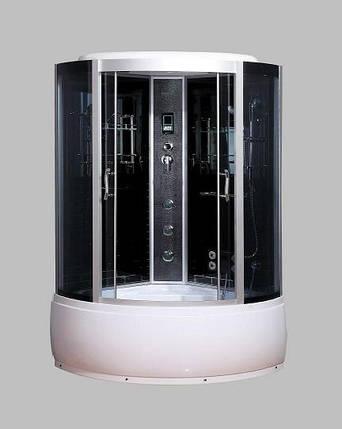 Гидромассажный бокс BADICO SAN 086 B 130х130х215 с глубоким поддоном, фото 2