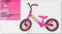 Велобег BB003 стальная рама, катафоты, колеса 12 дюймов