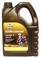 Мотоциклетное масло FUCHS Silkolene COMP 4 10w-40 (4л.) для 4-тактных двигателей