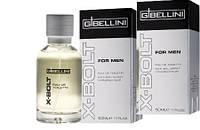 Gibellini X-Bolt - мужская туалетная вода, 50 мл.