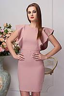 Платье женкое Морена пудрового, бежевого цвета