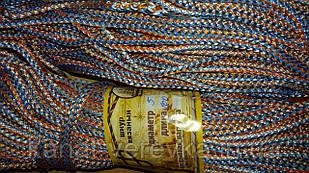 Вязаный полипропиленовый шнур 5 мм, веревка.