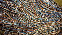 Вязаный полипропиленовый шнур 6 мм, веревка., фото 1