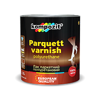 Лак паркетный полиуретановый Kompozit Parquett varnish (0,7л)