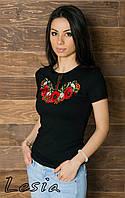 Жіноча футболка Маковий цвіт