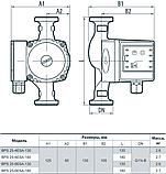 Циркуляционный насос «Насосы + Оборудование» BPS 25–6ESA–180, фото 4