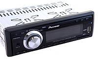 Автомагнитола pioneer 3000 SD+Flash+USB, акустика в машину