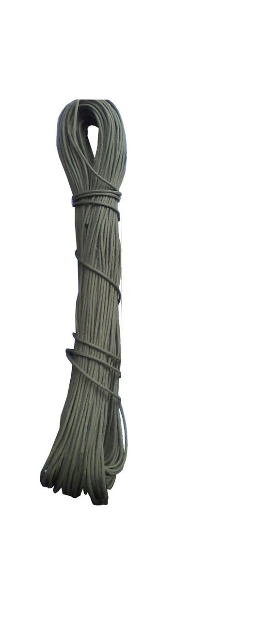 Шнур рыбацкий хаки 4мм*100м