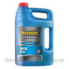 Моторное масло Texaco Havoline Energy SAE 5W-30, 5 л, Ford, Renault, A5/B5, SL/CF