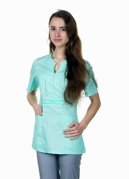 Жіноча медична куртка (верх), велика різноманітність кольорів, р. 40-56