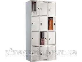 Шкаф ячеечный LS-34 (ВхШхГ - 1830х850х500)