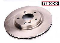 Диск тормозной передний (FERODO 5105514aa)