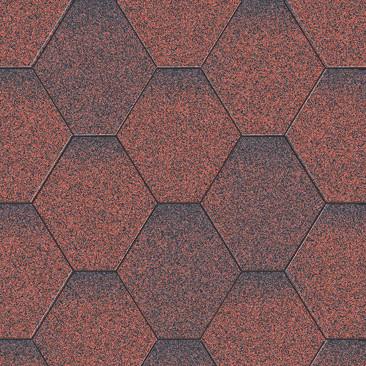 Мозаика Красный микс