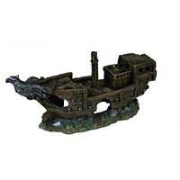 Декорация Trixie Разбитый корабль, 32 см.