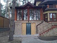 Раздвижные конструкции  окон и дверей
