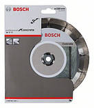 Алмазний відрізний круг Standard for Concrete 180 мм BOSCH, фото 2