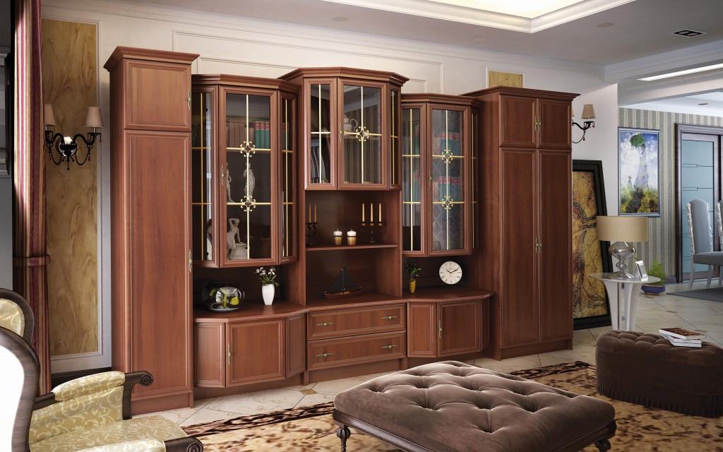 "Гостиная ""Барон"" 3600 Мебель-Сервис"