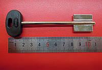Заготовка ключа MOTTURA широкая длинная левая
