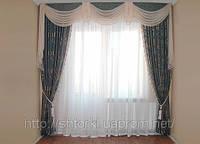 Тяжелые шторы для спальни