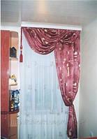 Пошив штор на заказ для кухни