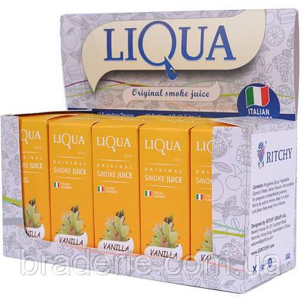 Жидкость для электронной сигареты LIQUA Ваниль, фото 2