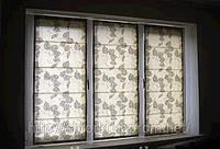 Римские шторы, римские шторы на кухню, механизм римских штор, римские шторы в детскую