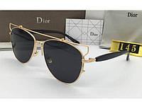 Солнцезащитные очки в стиле Technologic gold, фото 1