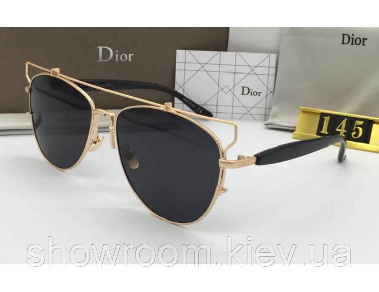 Женские модные солнцезащитные очки Technologic gold