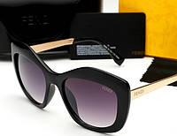 Солнцезащитные очки в стиле Fendi 0028 (black)