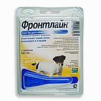 Фронтлайн (Frontline) Спот - Он  S капли для собак от 2 до 10 кг., пипетка