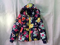 Куртка для девочки демисезонная 2-6 лет,синяя