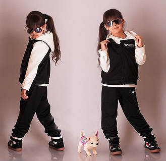 Детский спортивный костюм тройка Армани.