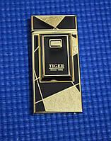 Электро-импульсная USB зажигалка Tiger черная, фото 1