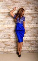 """Платье """"Комбинация джинса"""" 2 цвета"""