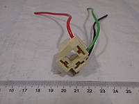Разъем фары основной универсальный лампы H4 (пластик), фото 1