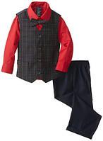 Нарядный костюм тройка с бабочкой на мальчика 2-7 лет