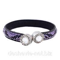 Пурпурный недорогой браслет женский 10brpurple мода 2017