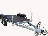 Прицеп для перевозки генератора 3,3м x 1,3м, с тормозами Knott 2,7т.