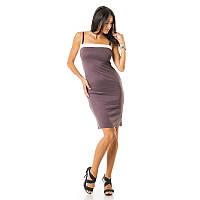 Платье женское дешево  Арт.002PLbrown
