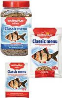 Корм для рыб таблетки Classic Menu 40гр