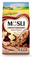 Мюсли BONA VITA s Druhy Cokolady 700г Завтрак Бона Вита с белым и черным шоколадом 700г