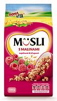 Мюсли BONA VITA s Malinami 700г Завтрак Бона Вита с малиной