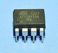 Микросхема ATtiny13A-PU  dip8  Atmel