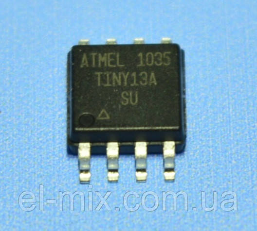 Микросхема ATtiny13A-SU  so8  Atmel