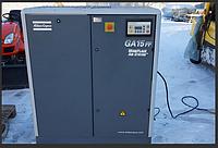 Компрессор винтовой с осушителем воздуха ATLAS COPCO GA15FF б/у 15кВт, 10 бар, 2670 л/мин